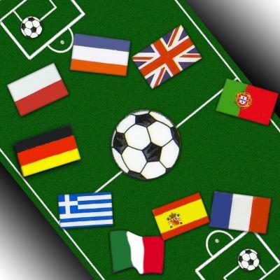 Football for Fingernails - Football Nail Art Stickers