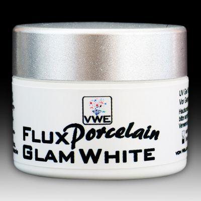 UV/LED Gel Flux Porcelain Glam White